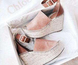 fashion, shoes, and chloe image