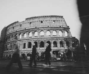 rome, colosseo, and italy image
