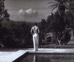 helmut newton and black and white image
