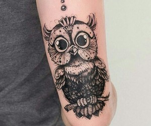 tattoo and owl image
