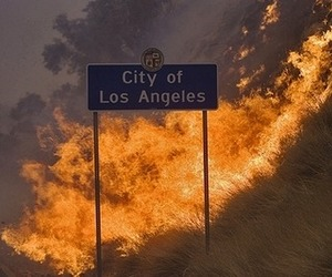 fire, la, and los angeles image