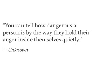 quotes, anger, and dangerous image