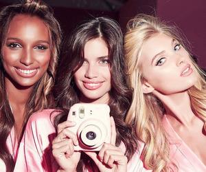 elsa hosk, jasmine tookes, and model image