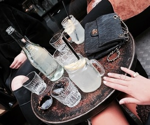 drinks and fashion image