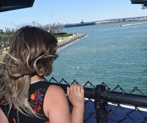 california, girl, and midway image