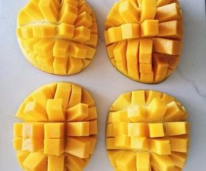mango, food, and fruit image