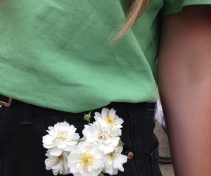 aesthetic, clothes, and flower image