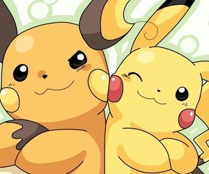pokemon, pikachu, and raichu image