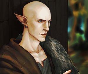 dragon age, solas, and dai image