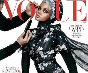 vogue, model, and halima aden image