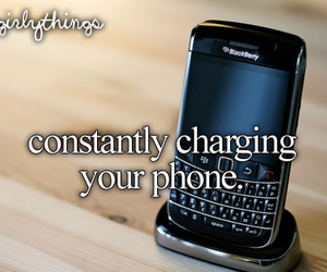 phone, blackberry, and charging image