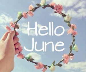 hello, june, and sky image