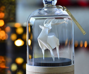 glass, jar, and origami image