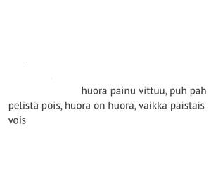Lyrics, quote, and suomeksi image