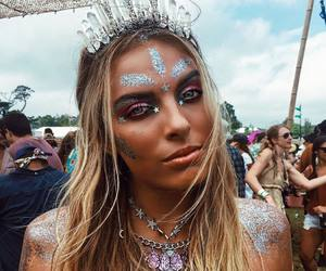 festival, girl, and indie image