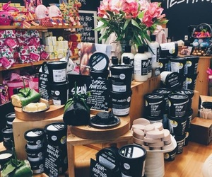 lush and cosmetics image