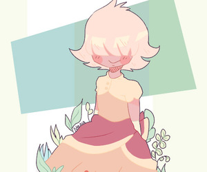 padparadscha and steven universe image