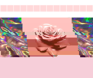 aesthetic, glitchvana, and pink image