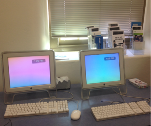 aesthetic, computers, and pastel image
