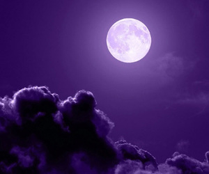 moon, purple, and wallpaper image