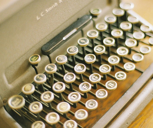 vintage, write, and writing image