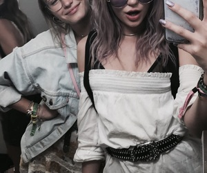alissa violet, girl, and friends image