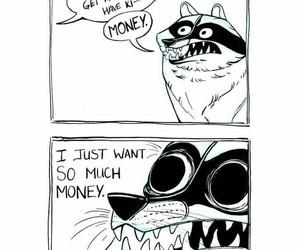 cash, lol, and money image