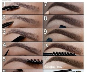 diy, fleeky, and eyebrows image