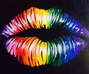 colour, colourful, and lips image