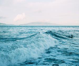 blue, escape, and ocean image