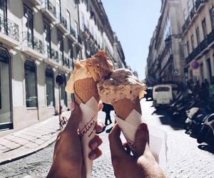 beautiful, food, and girl image