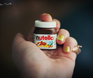 nutella and mini image