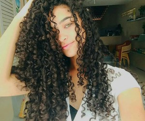 babe, curly, and fashion image