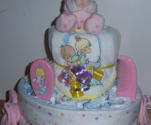 pink, baby, and cake image