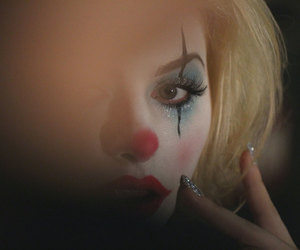 clown, glam, and rodeo image