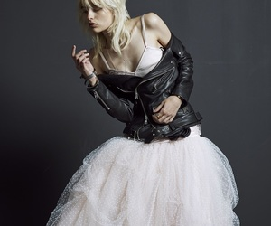 model, dress, and fashion image