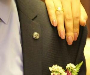 eve, flower, and خطوبة image