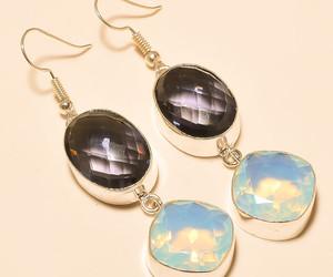 earrings, silver jewelry, and silver earrings image