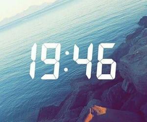 sea, time, and snapchat image