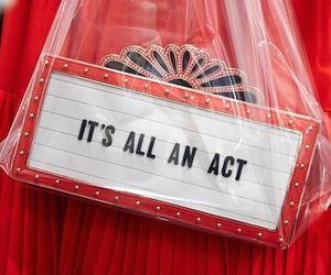 act, red, and acting image