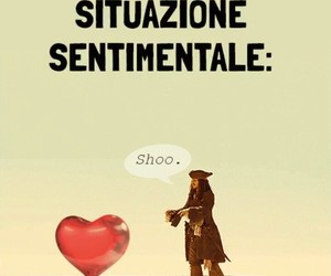 amore, jack sparrow, and spiaggia image
