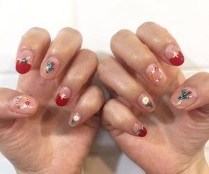 korean and nail image