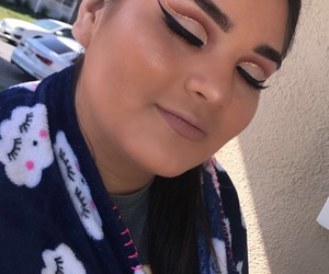 glitter, highlight, and makeup image