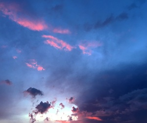 clouds, heaven, and photography image