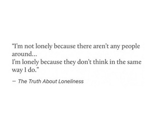 lonely, people, and quotes image