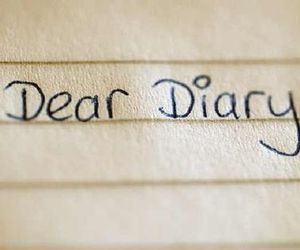 diary, dear diary, and dear image