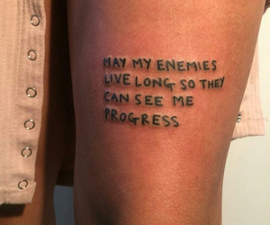tattoo, quotes, and aesthetic image