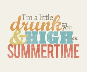 summer, quote, and music image