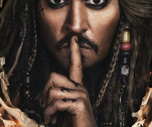 johnny depp, pirates of the caribbean, and captain jack sparrow image