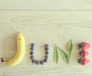 banana, fruit, and june image